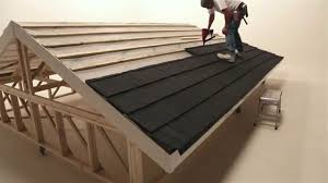 Lightweight Roof Tiles Fixing Installing Lightweight Roofing Tiling For The Shingle
