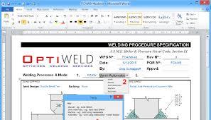 welding procedure templates use with caution karsten madsen