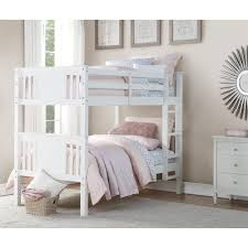 Bunk Bed With Play Area by Dorel Living Dorel Living Dylan Twin Bunk Bed White