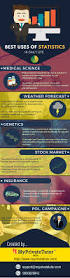 the different uses of statistics in daily life infographic