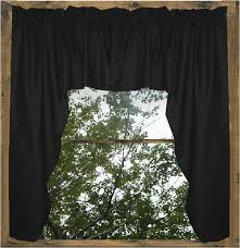 Blue Swag Curtains Fabulous Black Valance Curtains And Black Window Curtain Swags