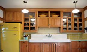 kitchen cabinet styles bungalow kitchen cabinets arts and crafts