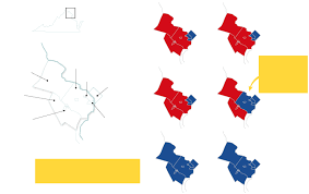 Northern Virginia Map by How Northern Virginia Turned Blue And Could Give Clinton A Victory