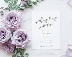 wedding announcement wedding announcement etsy