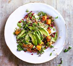 cuisine of california california quinoa avocado salad recipe food