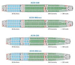 A340 Seat Map Chart Aer Lingus Airbus A330 Seating Chart