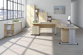 Schreibtisch Lang Schmal Welle Büromöbel Kyro Ahorn Möbel Letz Ihr Online Shop