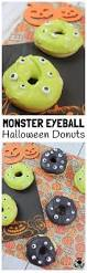 ready creepy monster eyeball halloween donuts kids craft room