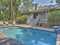 4br hilton head house in sea pines w pool homeaway sea pines