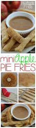 homemade apple fries mini apple pie sticks recipe apple