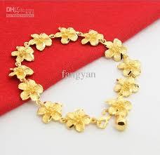 bracelet gold women images Wholesale jewelry 925 silver gold plated 24k women spend bracelet jpg