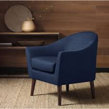 Blue And White Accent Chair Dining Room The Chairs Amusing Accent Blue Navy Armchair With And