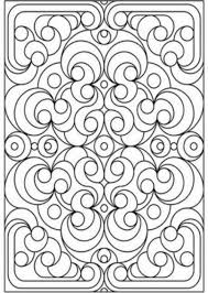 25 geometric coloring patterns images mandalas