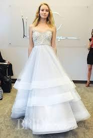 blush wedding dress trend strapless dresses 2015 wedding dress trends 2159607