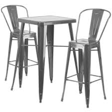 White Pub Table Set - bar u0026 pub table sets for less overstock com