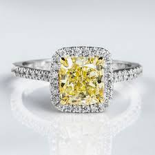 engagement rings images amazing canary yellow engagement rings collection