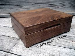 engravable keepsake box keepsake box custom engraved wood box 8x10 walnut