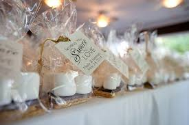 smores wedding favors s mores kit wedding favors