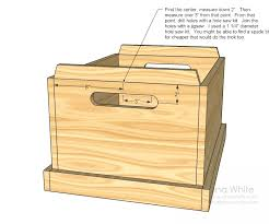 Small Toy Chest Plans by Wood Work
