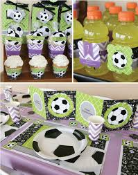 soccer party ideas mix and match unique soccer party ideas big dot of happiness