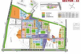 Tara Floor Plan by Jeevan Tara Apartment Cghs Sector 43 Wazirabad Road Gurgaon