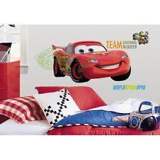 Disney Cars Bedroom Set by Roommates Cars Décor Decals Stickers U0026 Vinyl Art Ebay