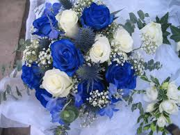 wedding flowers royal blue blue and white wedding flowers the wedding specialiststhe