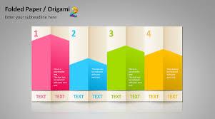 powerpoint vorlagen design besser präsentieren mit powerpoint vorlagen im origami stil