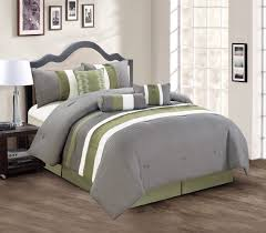 Green Bed Sets Bedroom Green Comforter Adorable Total Fab Lime Green And Grey