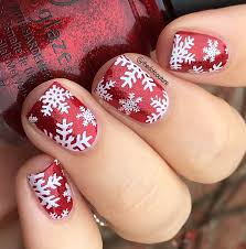 christmas nail art cute girls hairstyles