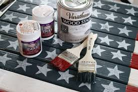 How To Paint American Flag The Yellow Cape Cod How To Make A Diy Rustic American Flag