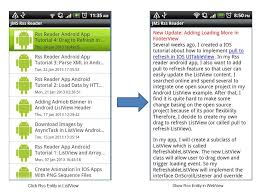 rss reader android rss reader android app tutorial 5 show website content in webview