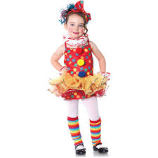 clown costumes for halloween circus clown toddler halloween costume walmart com