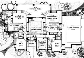 southwest floor plans house 6630 blueprint details floor plans