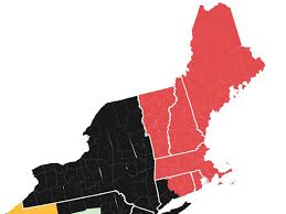 Map shows red sox yankees border in connecticut business insider