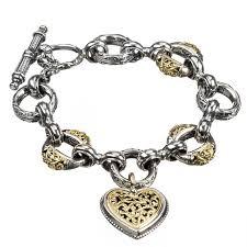 solid silver charm bracelet images Designer charm bracelet gerochristo 6275 solid gold silver jpg
