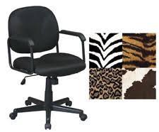 Zebra Print Desk Chair Zebra Office Chair Ebay