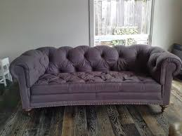 Chesterfield Sofa Australia by Reloved Rubbish The Painted Sofa