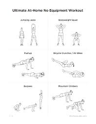 at home workout plans for women ultimate at home no equipment workout routine for men women