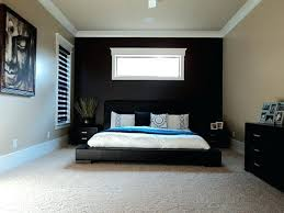 Red Bedroom Accent Wall - cool accent wall in bedroom black a kids room for mid century