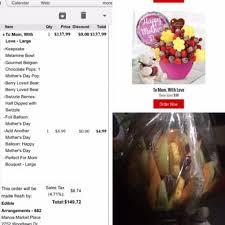 how much is an edible arrangement edible arrangements 31 photos 48 reviews gift shops 2752