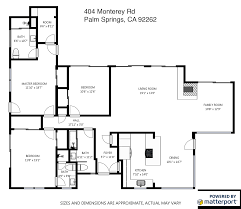 Parc Imperial Floor Plan Architecture Palm Springs Real Estate