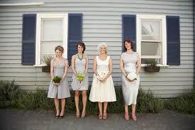 tea length wedding dresses polka dot bride