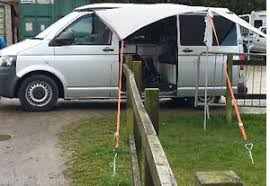 Vw T5 Campervan Awnings Vw T5 T4 Camper Awning Ratchet Ropes Straps Tie Down Anchor Strap
