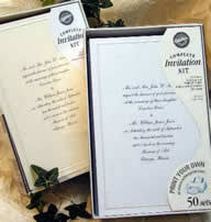 how to print your own wedding invitations print your own wedding invitations using wedding invitation kits