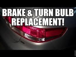 2009 honda accord brake light bulb honda accord brake turn l bulb replacement youtube