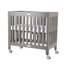 Baby Mini Cribs by Bloom Alma Mini Crib In Frost Grey U2013 Natural Baby Shower