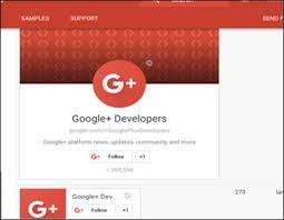 Google Plus Page Vanity Url Google Plus Badges
