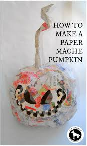 25 best paper mache pumpkin ideas on pinterest diy halloween