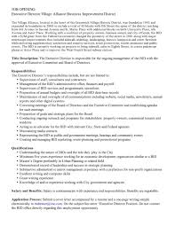 Cover Letter Example For a Development   Museum Job
